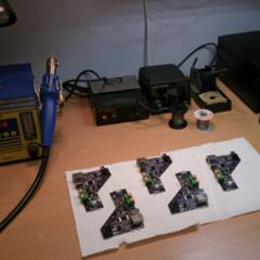 First electronic prototypes