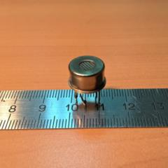 Sensor with diffusion sample taking